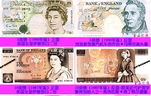 英镑 纸币/英镑纸币: