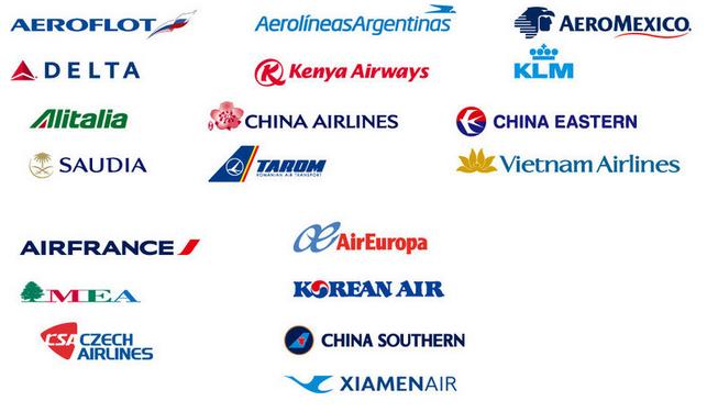 天合联盟   寰宇一家是三大联盟中最小的,仅有15个成员公司,它们都爱打服务牌宣称注重乘客体验,日本航空和卡塔尔航空最为突出,近年来卡塔尔航空的北京-多哈-芝加哥的往返票价可低至6000元,也有不少留学生选择。美国航空算是寰宇一家在北美的大旗,它的中美直飞路线跟美联航大致重叠,但它家的里程兑换机票不收燃油附加费,这一点上天合联盟所有航空公司完败,星空联盟中的国航与汉莎完败。小编强烈推荐深广一带同学选择国泰航空从香港转机,国泰票价经济,可免费托运行李数量达到3件,且亚洲团队的服务水平远胜它在欧美的一众