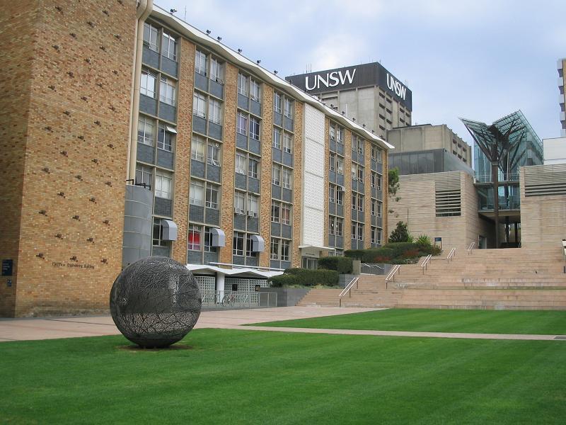 澳大利亚新南威尔士大学校园风光